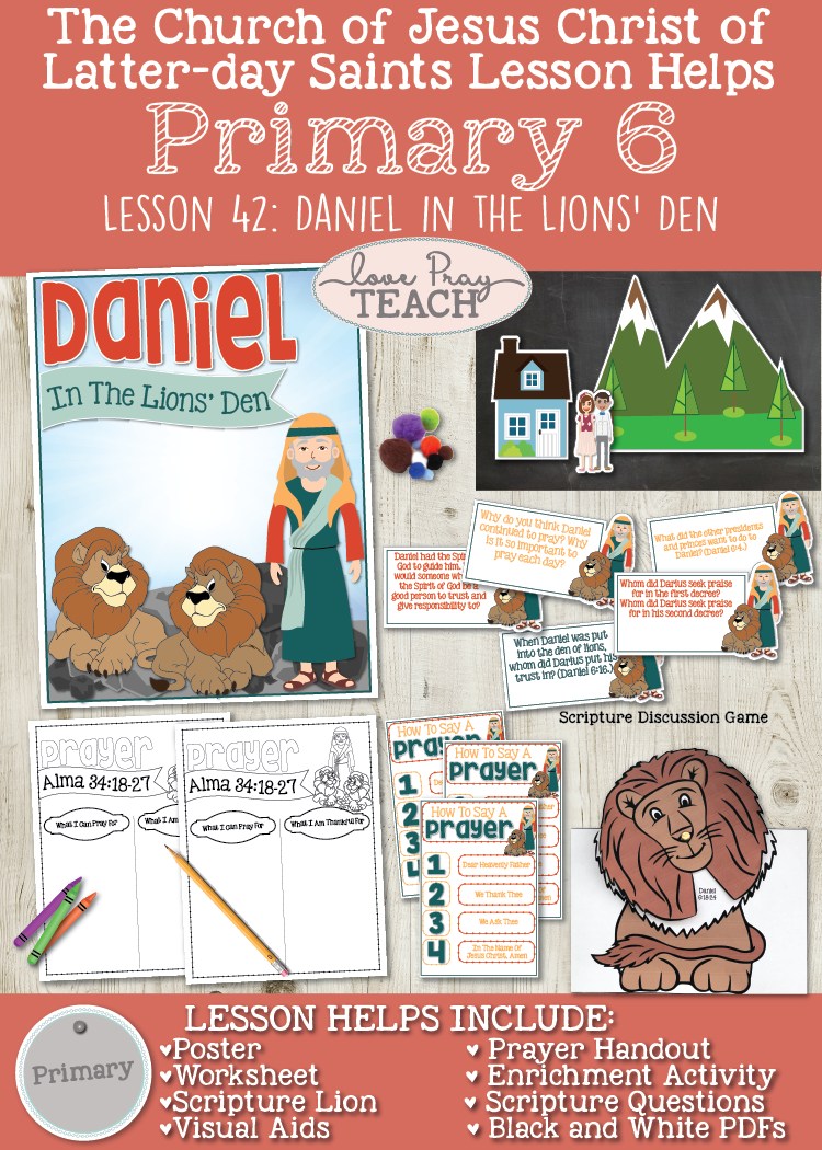 Primary 6 Lesson 42: Daniel in the Lions' Den