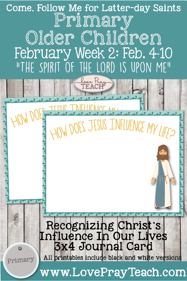 "Come, Follow Me for Primary: February Week 2: Matthew 4; Luke 4–5 ""The Spirit of the Lord Is upon Me"" OLDER CHILDREN"
