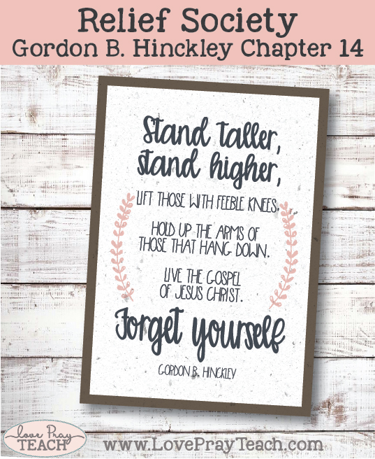 Gordon B. Hinckley Chapter 14: