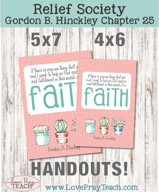 Gordon B. Hinckley Chapter 25: