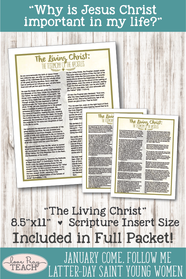photo regarding The Living Christ Printable referred to as Youthful Females Appear, Observe Me: \