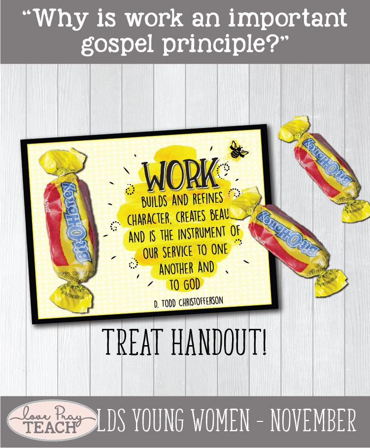 LDS Young Women November: