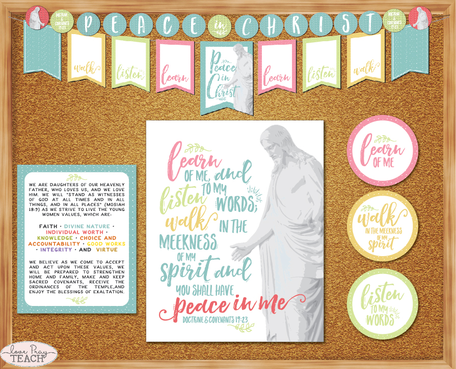 2018 Mutual Theme Printable Packet for Young Women