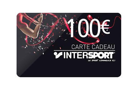 Carte Cadeau Intersport 100€