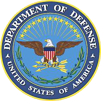 The logo of the Department of Defense