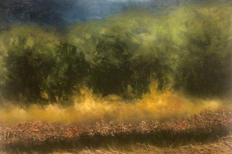 """Vibrant Slough"" by Dana Berardinis"