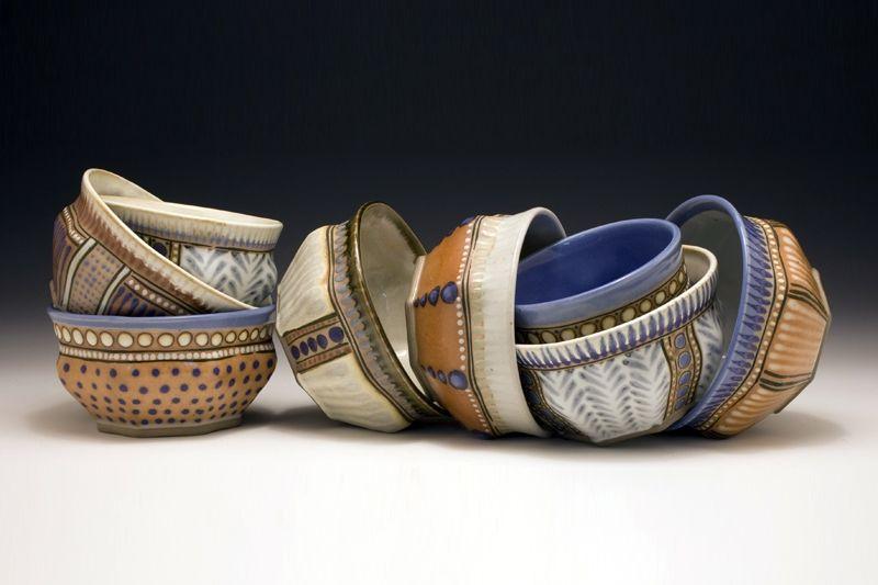 Stacked Bowls by Miranda Howe