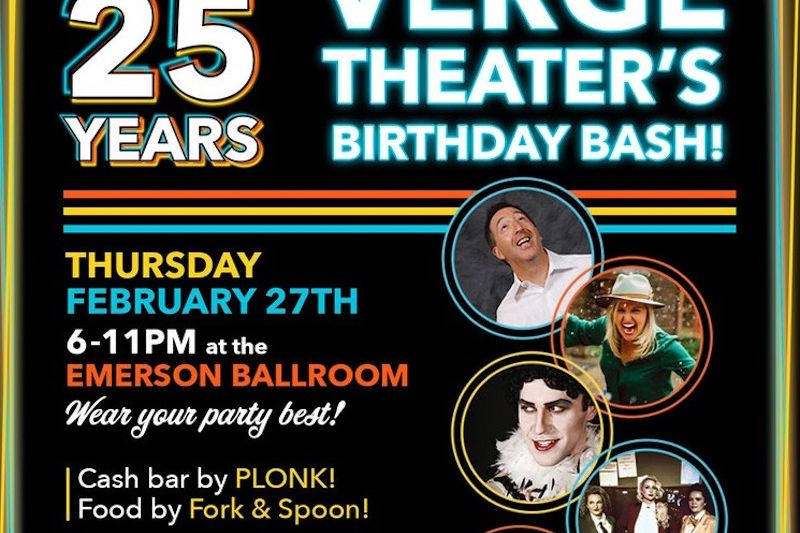 Verge Theater's Birthday Bash