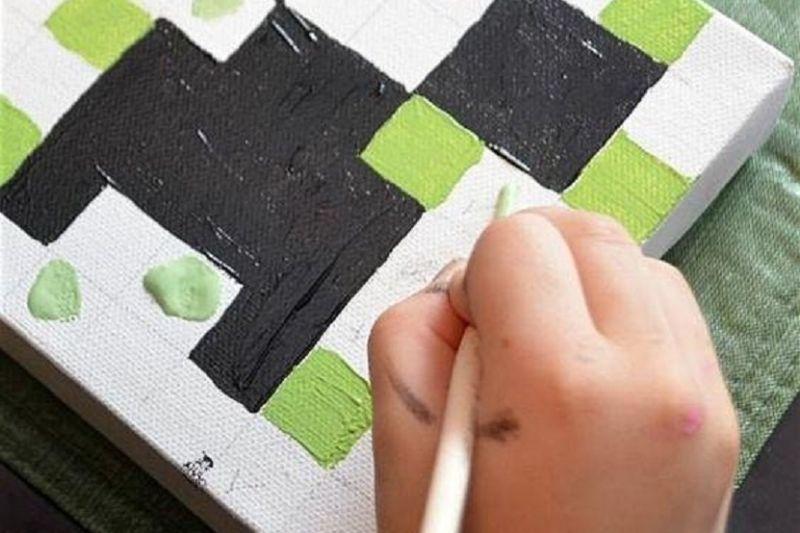 Canvas & Cookies: Minecraft