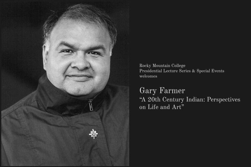 Native actor and activist Gary Farmer