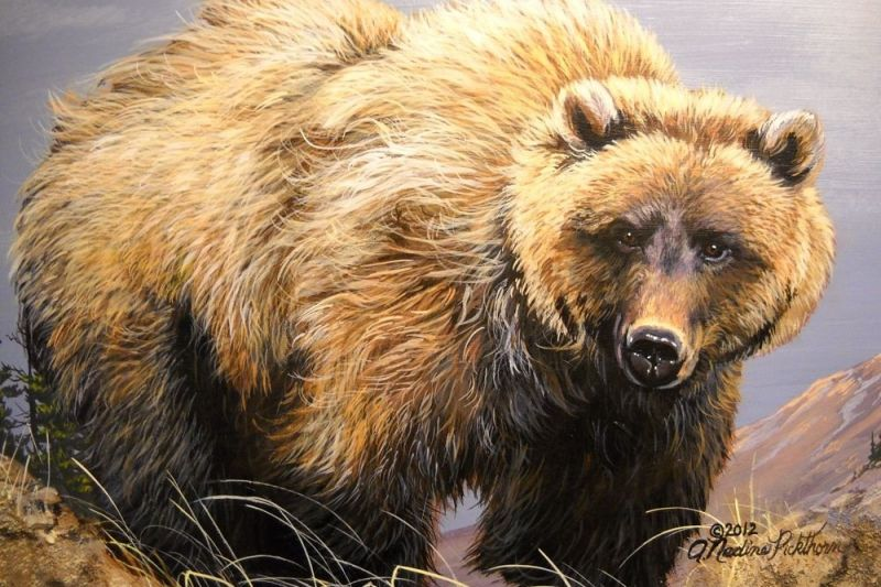 Grizzly by Nadine Pickthorn