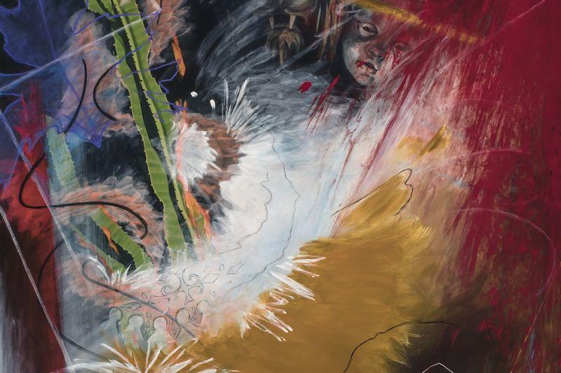 Chaos #4, Cactus (excerpt) by Carla Pagliaro