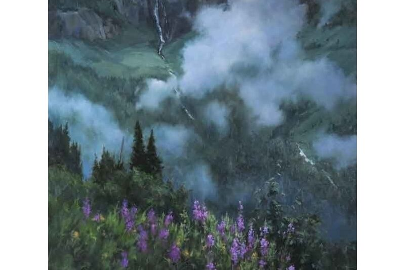 Fireweed and Fog by Linda Glover Gooch
