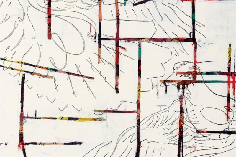 Edgeland of the Sora Rail, oil on panel, by Catherine Courtenaye