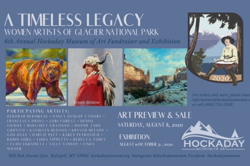A Timeless Legacy 2020: Women Artists of Glacier National Park