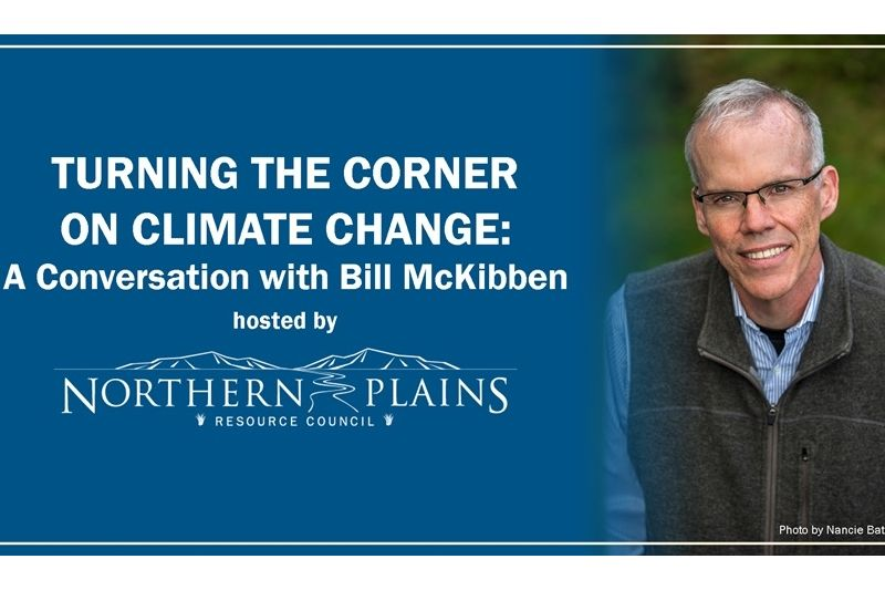 Bill McKibben: Turning the Corner on Climate Change