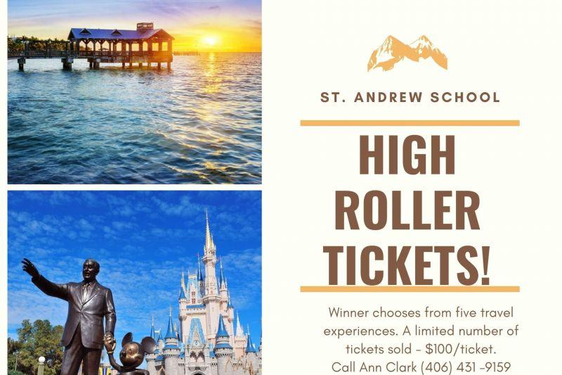 St. Andrew School High Roller Tickets