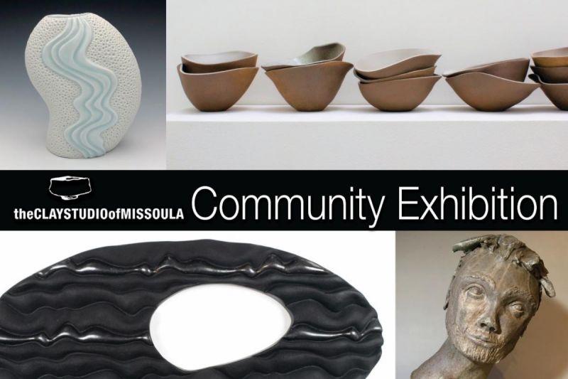 Clay Studio of Missoula Community Exhibition