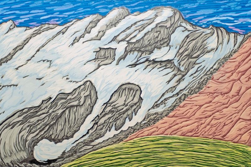 Blackfoot Glacier by Bruce Crownover