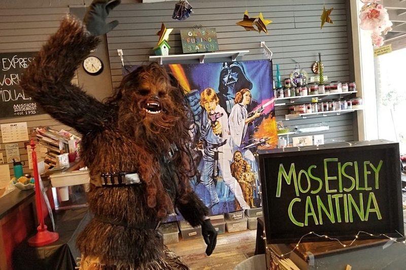 The Mos Eisley Cantina