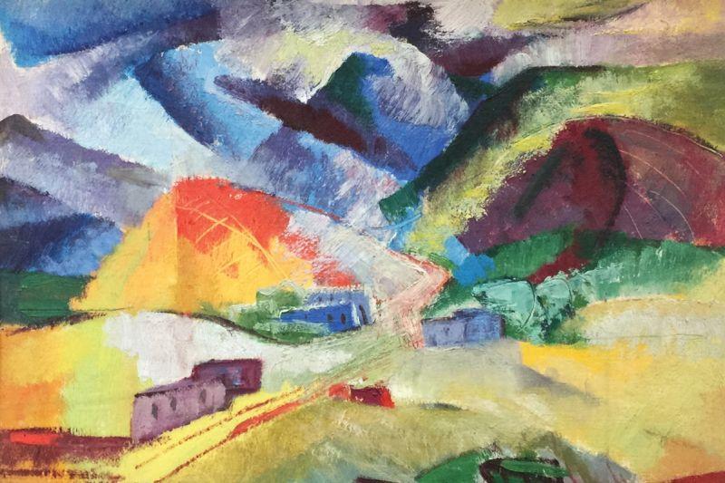 Camino del Monte Sol by Beulah Stevenson