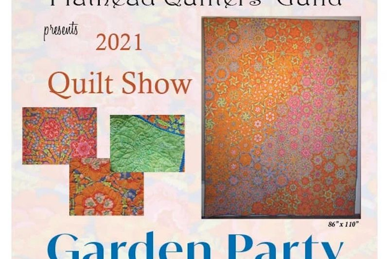 Flathead Quilters' Guild Show: Garden Party