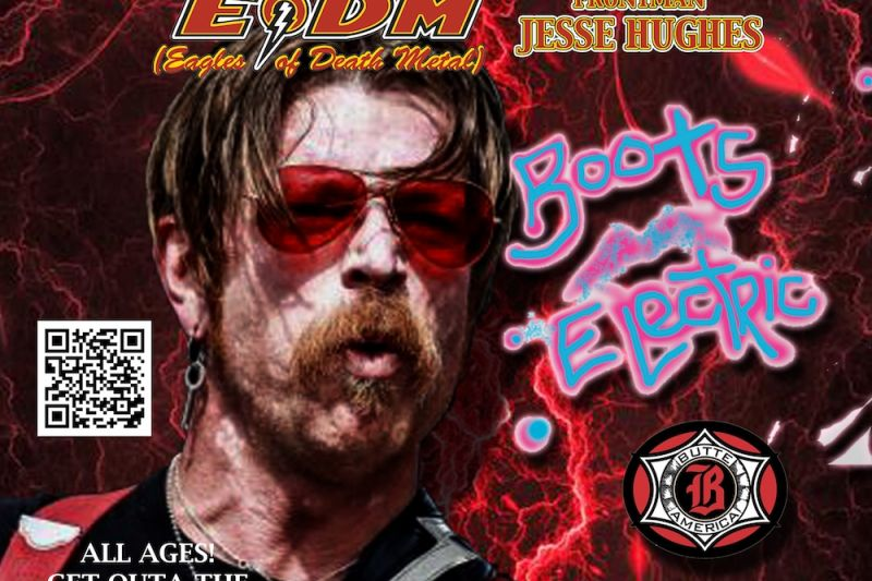Jesse Hughes with Boots Electric