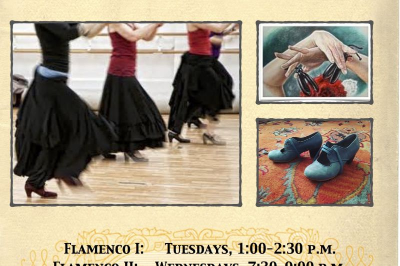 Flamenco Dance Classes Level 2 Lively Times