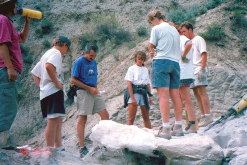 Paleontology in Makoshika State Park