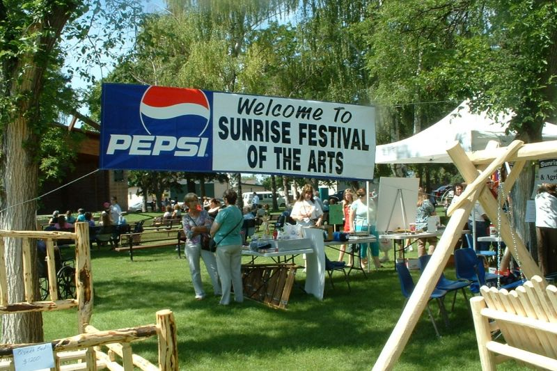 Welcome to The Sunrise Festival of the Arts, 2012