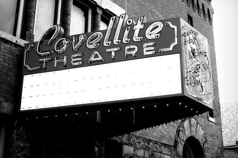 Covellite Theatre in Uptown Butte