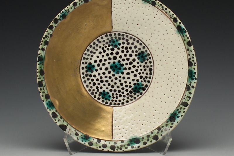 Gail Kendall, Half-Gold Dish