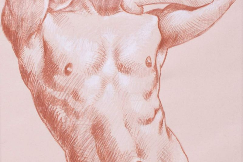 Live Figure Drawing at the Lewistown Art Center