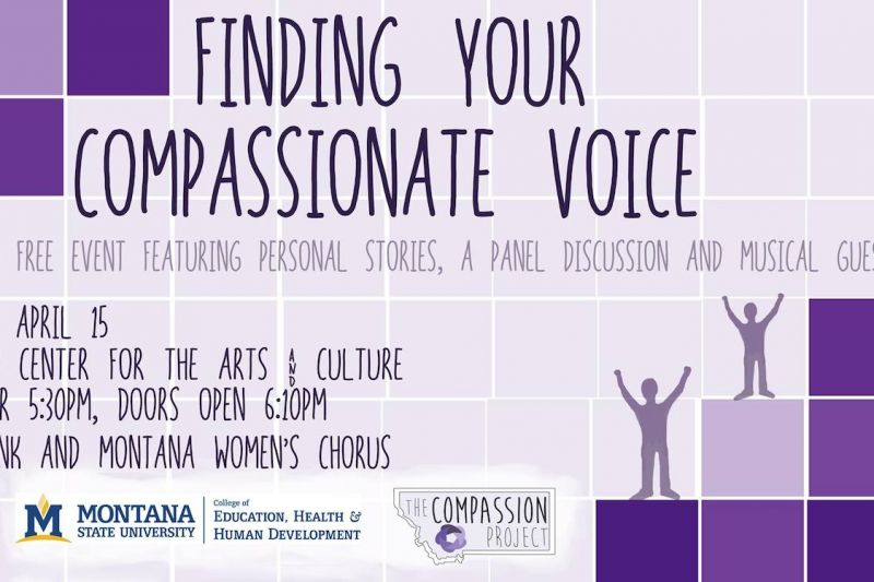 Finding Your Compassionate Voice event