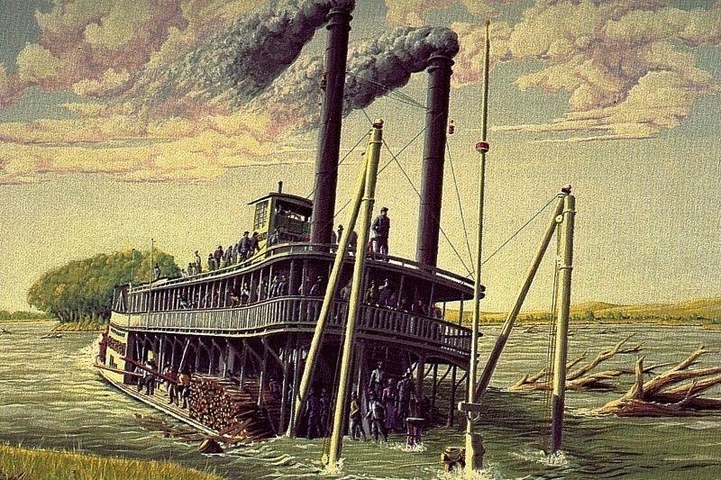 Bertrand Sinking by Jim Trott