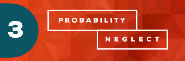 Probability Neglect [image] - 10 Cognitive Biases That Cramp Your Creativity At Work
