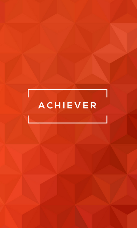 Lock Screen Wallpaper for StrengthsFinder Talent Theme of Achiever