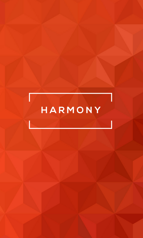 Lock screen wallpaper image for phone - StrengthsFinder talent theme of Harmony