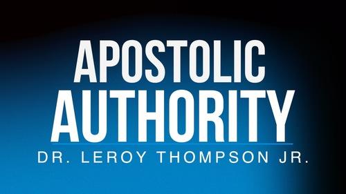 Apostolic 20authority