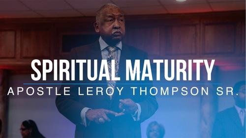 Spiritual 20maturity