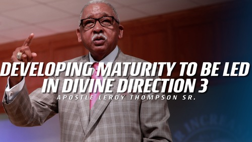 11 1 17 wed pm developing maturity to be led in divine direction 3