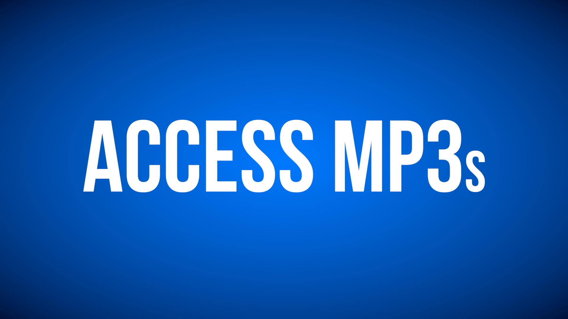 Access mp3s cover art