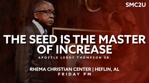 04 05 19 fri pm the seed is the master of increase