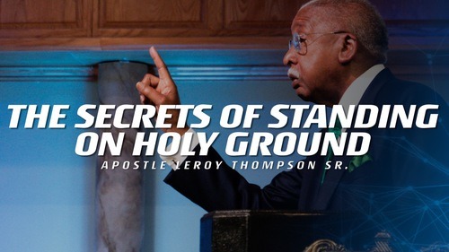04 28 19 tue pm the secrets of standing on holy ground