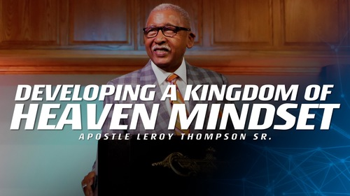 03 01 20 sun am developing a kingdom of heaven mindset