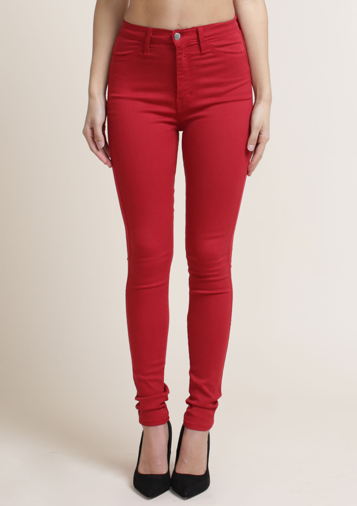 Berry Skinny Jeans