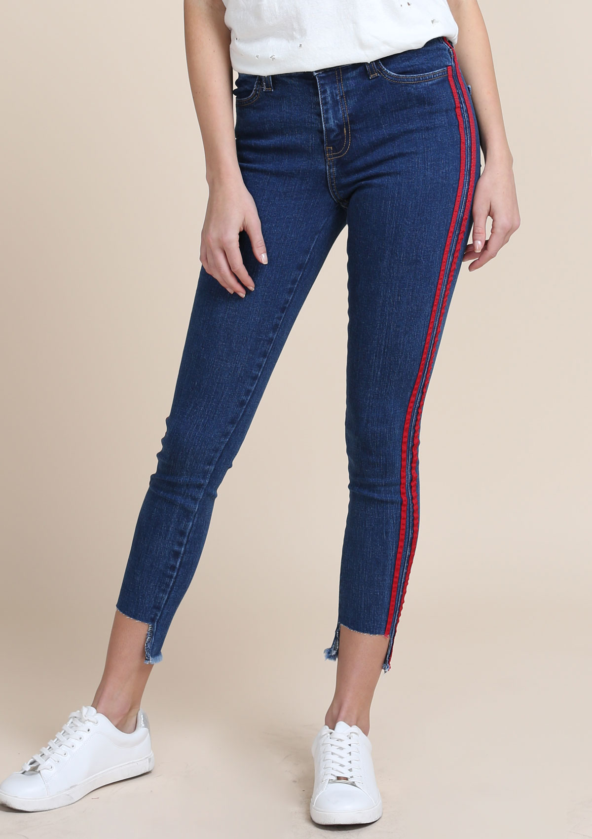 Racer Jeans