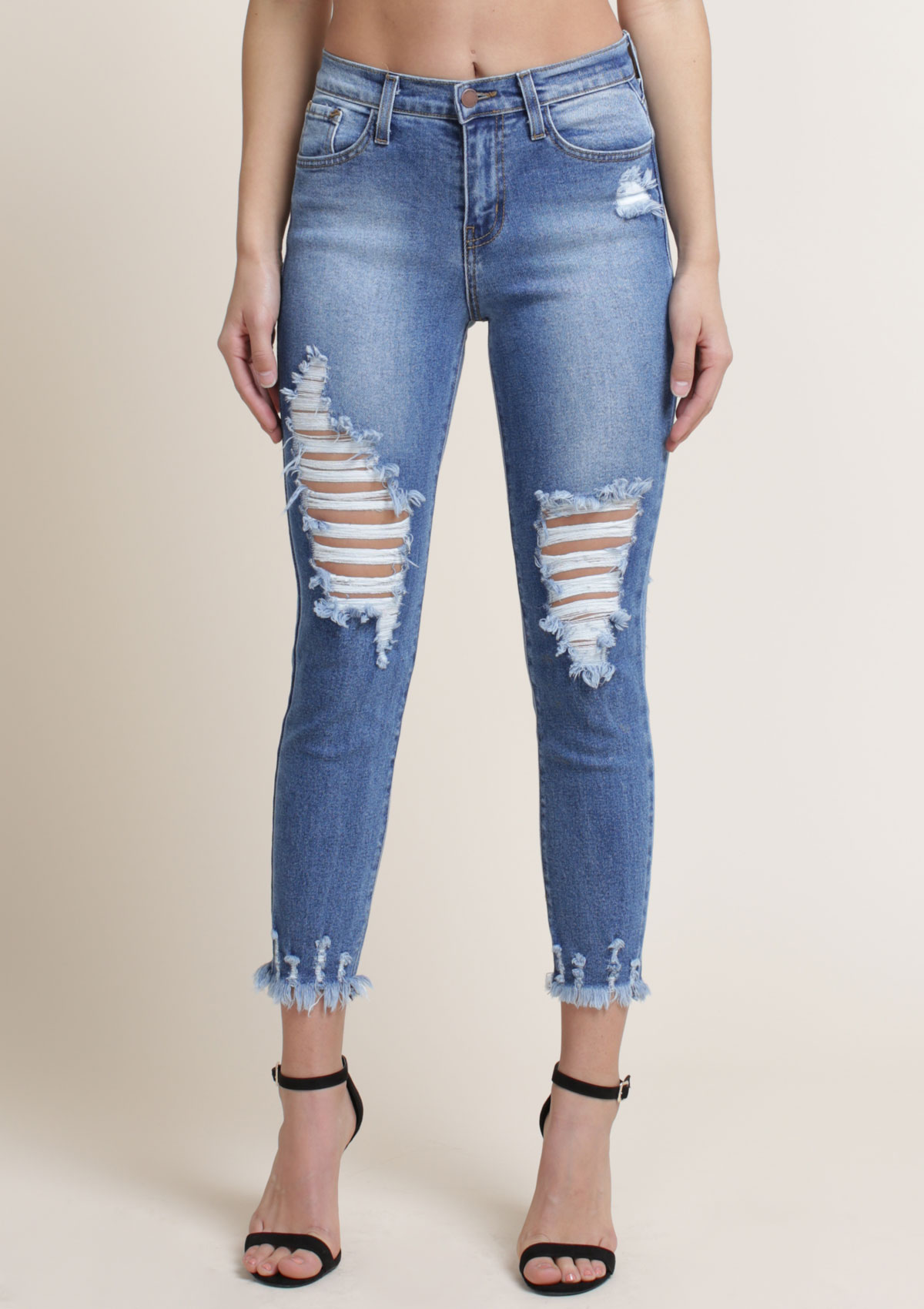 Record Scratch Jeans