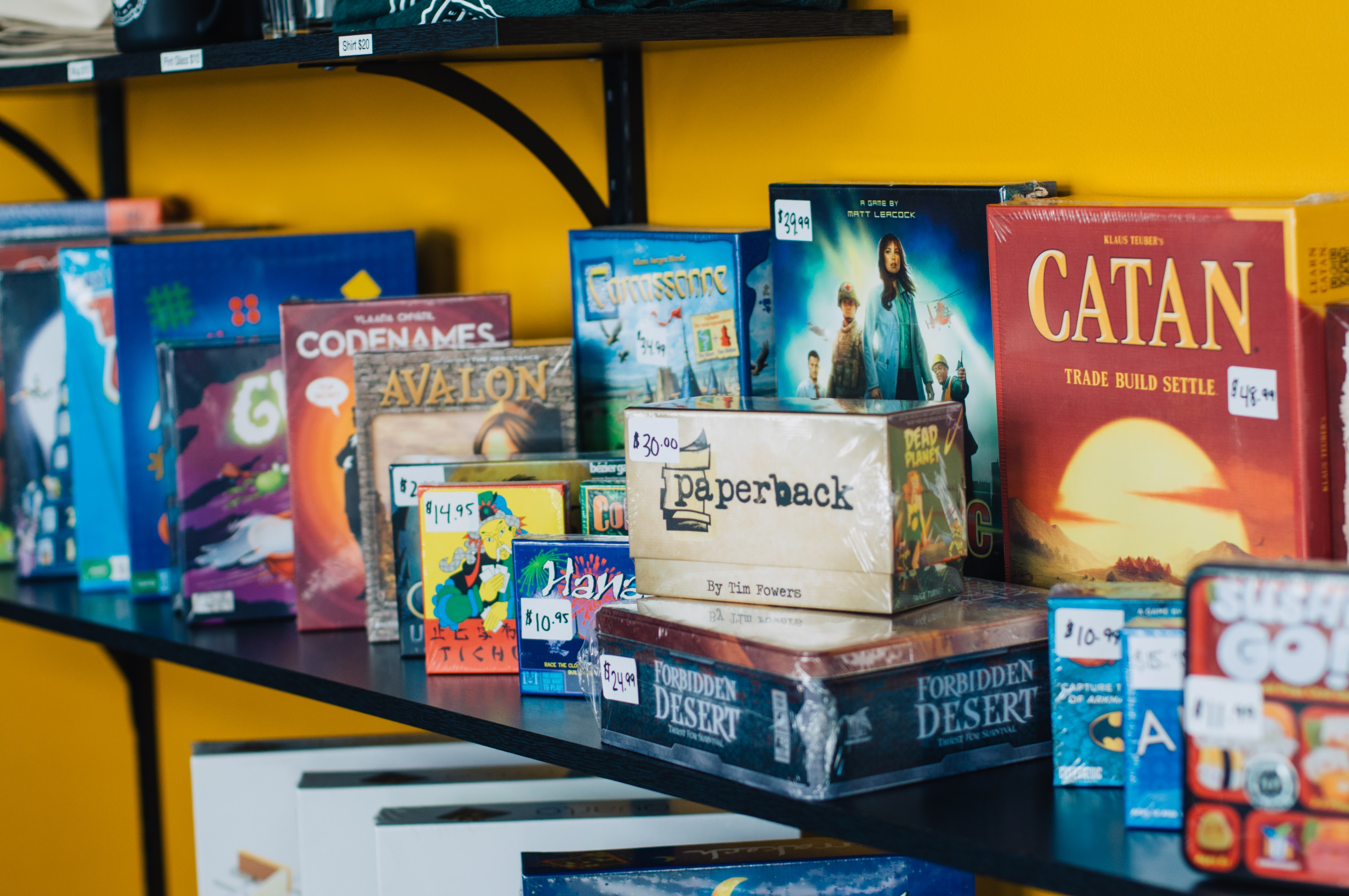 board games creative perks for employees