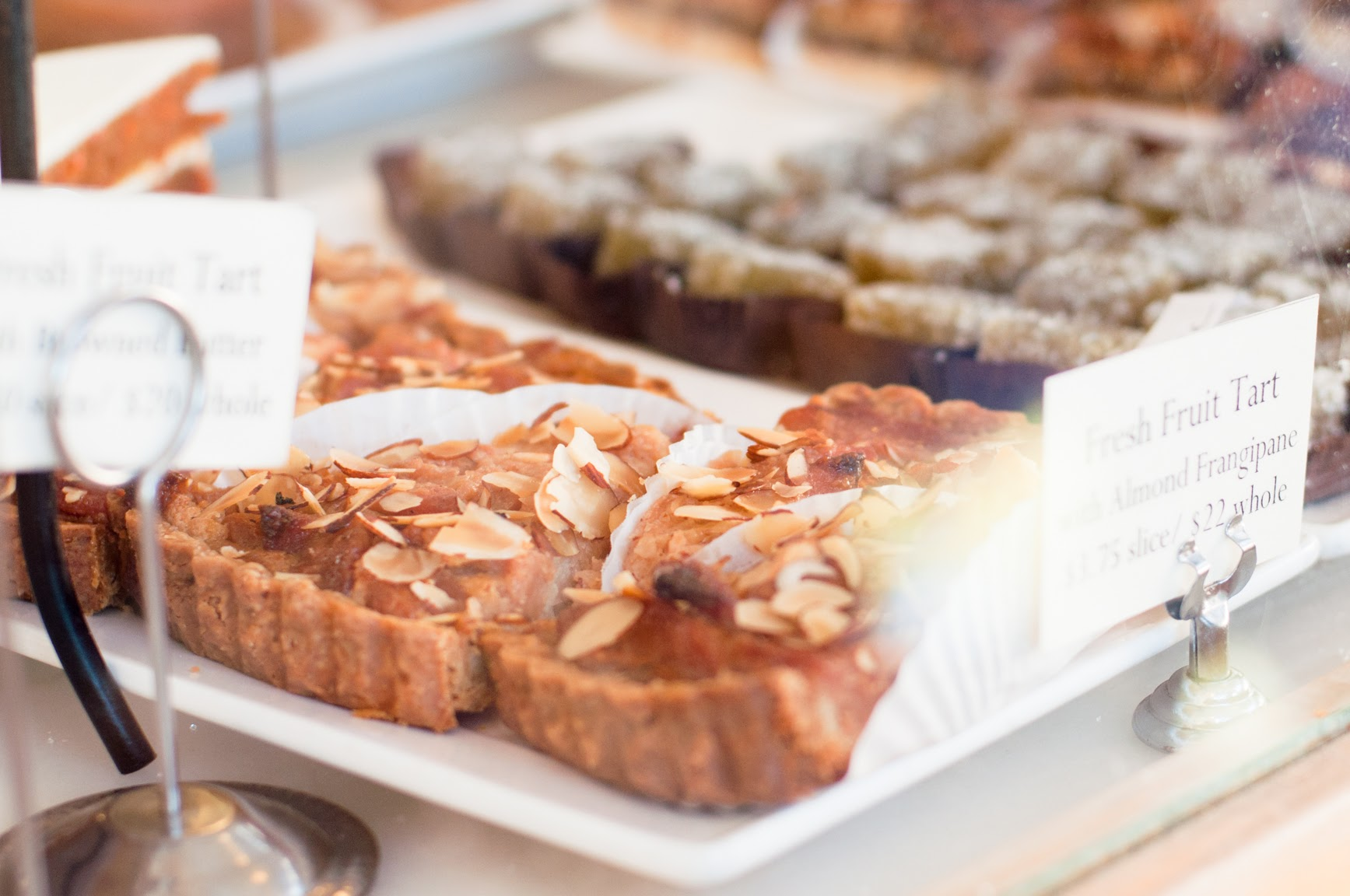 pastries in a store window creative perks for employees